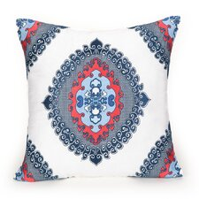 Coastline Ikat Decorative Pillow