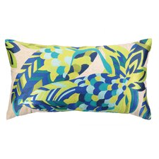 La Palma Embroidered Lumbar Pillow