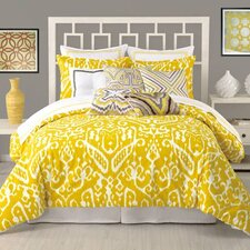Ikat 3 Piece Comforter Set