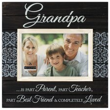 4 x 6 Grandpa Sunwashed Picture Frame