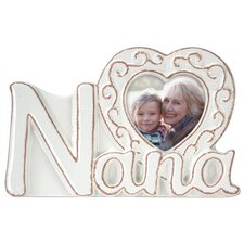 Nana Ceramic Script Picture Frame