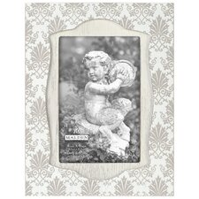 "4"" x 6"" Damask Ornate Wash Picture Frame"