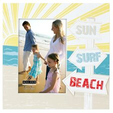 Surf Sun Beach Picture Frame