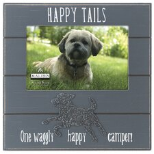 Happy Tails Dog Picture Frame