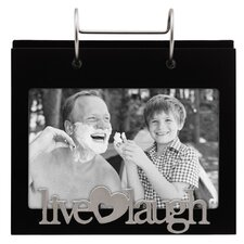 "4"" x 6"" Live Laugh Love Picture Frame"