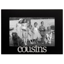 Expressions Cousins Picture Frame
