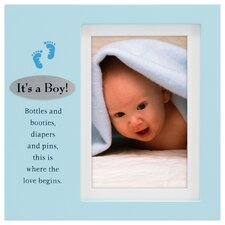 It's A Boy Plaque Picture Frame