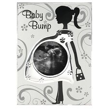 Baby Bump Sonogram Picture Frame