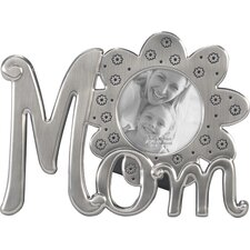 Mom Flower Icons Picture Frame