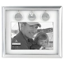 <strong>Malden</strong> Dad Metal Charms Picture Frame