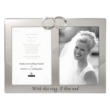 Wedding Rings Picture Frame