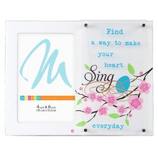 <strong>Malden</strong> Heart Sing..Dimensions Picture Frame