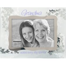 Grandma Ornate Glass Picture Frame