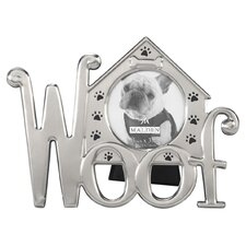 Woof Dog House Icons Picture Frame