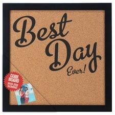"Best Day Ever! 1' 0.5"" x 1' 0.75"" Bulletin Board"