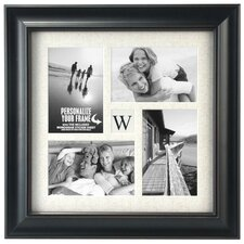 Barnside Initial 4-Opening Picture Frame