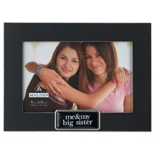 Me and My Big Sis Tags Picture Frame