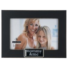 Mommy and Me Tags Picture Frame