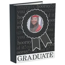 1-Up Graduate Brag Book Album