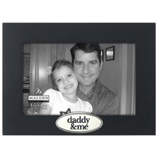 Daddy and Me Express Picture Frame