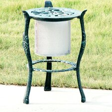 Rosette Iron Candle / Plant Stand