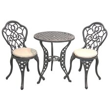 <strong>Innova Hearth and Home</strong> Legacy 3 Piece Bistro Set