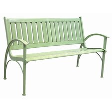 Contempo Cast Aluminum Back Park Bench