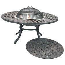 Coffee Table with Firepit