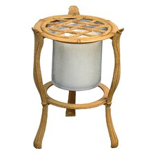 Bamboo Iron Candle / Plant Stand