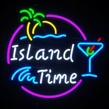 Island Time Neon Sign