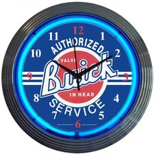 "Cars and Motorcycles 15"" Buick Wall Clock"