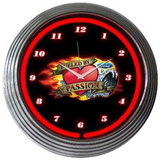 "<strong>Neonetics</strong> 15"" Ford Fueled By Passion Wall Clock"