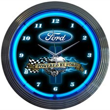 "15"" Powered By Ford Wall Clock"