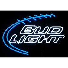 <strong>Neonetics</strong> Bud Light Football Neon Sign