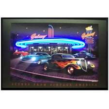 <strong>Neonetics</strong> Galaxy Diner Neon LED Poster Sign