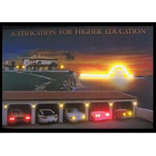 <strong>Neonetics</strong> Justification for Higher Education Neon LED Poster Sign