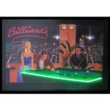 Night at the Parlor Neon LED Poster Sign