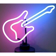 Business Signs Guitar Neon Sign