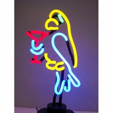 Business Signs Parrot Margarita Neon Sign
