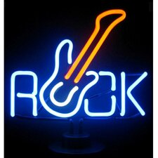 Business Signs Rock Guitar Neon Sign