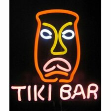 <strong>Neonetics</strong> Business Signs Tiki Bar Neon Sculpture