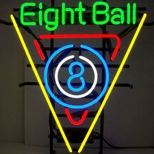 <strong>Neonetics</strong> Business Signs 8 Ball Billiards Neon Sign