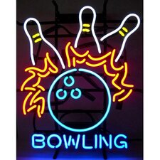 <strong>Neonetics</strong> Bowling Fire Neon Sign