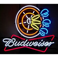 Business Signs Budweiser Darts Neon Sign