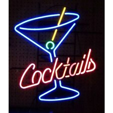 <strong>Neonetics</strong> Business Signs Cocktails and Martini Neon Sign