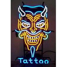 <strong>Neonetics</strong> Business Signs Devil Tattoo Neon Sign