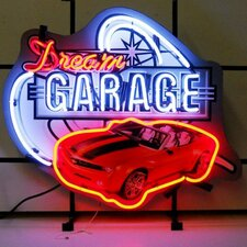 Car & Motorcycles Dream Garage Camaro Neon Sign