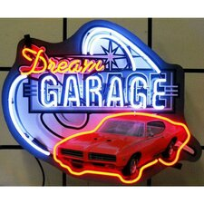 Cars and Motorcycles Dream Garage Gto Neon Sign