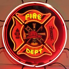 <strong>Neonetics</strong> Fire Department Neon Sign