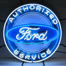 <strong>Neonetics</strong> Ford Neon Sign with Silkscreen Backing